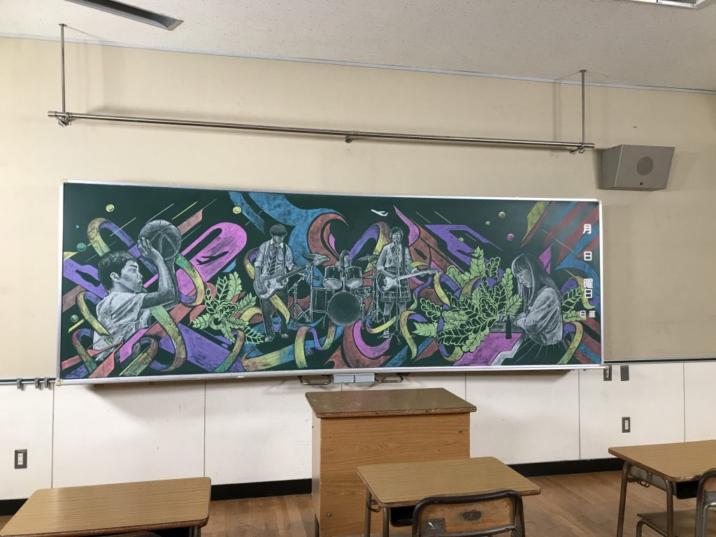 黒板アート