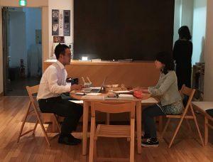 濱田さんと佐藤真理先生